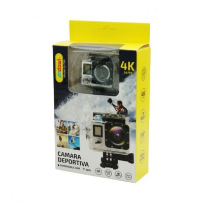 ACTION CAM 4K 24FPS ULTRA HD ANDOWL AN-QY-70K